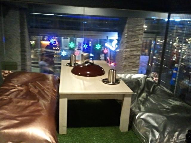 seoul // itaewon / glamping restaurant