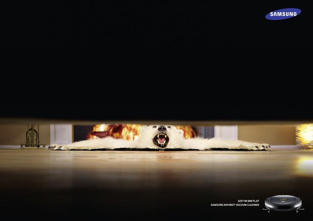Samsung Navibot Vacuum Cleaner - Just 80mm flat 2