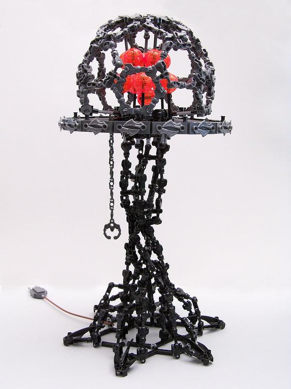 Demonic lamp