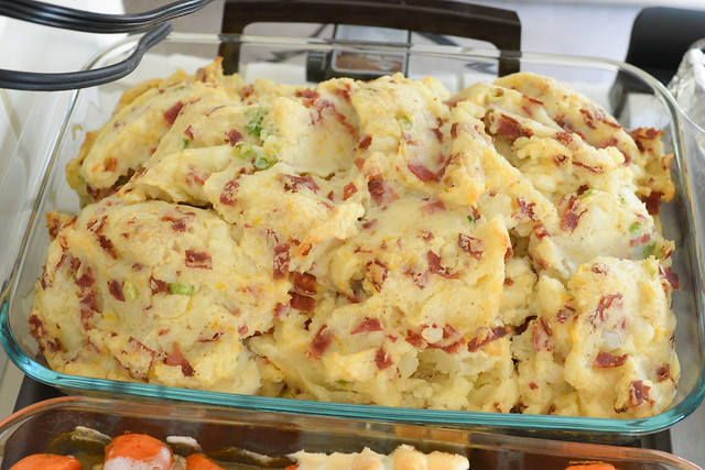 Mashed Potatoes with Bacon