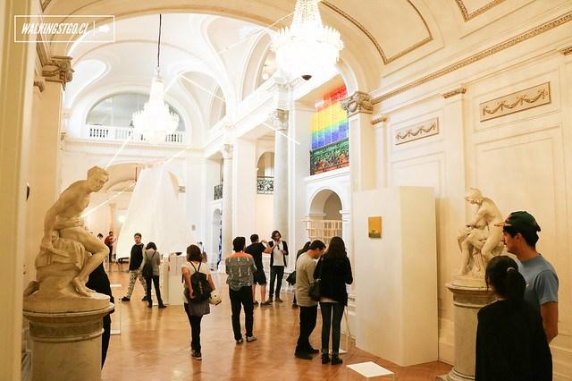 @areastgo en el @TeatroMunicipal de #Santiago #AreaBordes #exposición #arte #diseño #arquitectura #fotografía #vídeo #instalación / Fotos por Miguel Inostroza Godoy -30.11.2014-