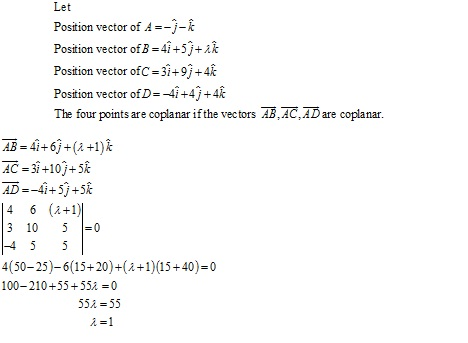 RD Sharma Class 12 Solutions Chapter 26 Scalar Triple Product Ex 26.1 Q9