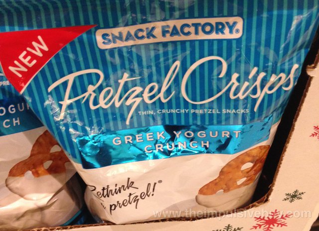 Snack Factory Greek Yogurt Crunch Pretzel Crisps