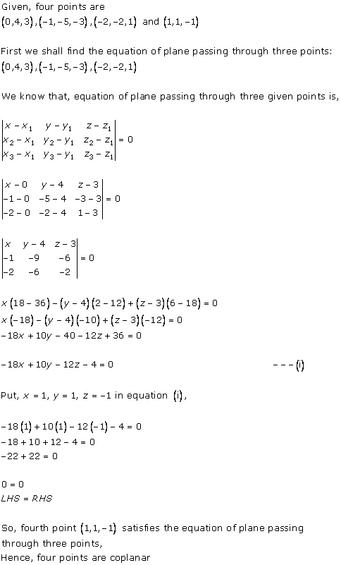 RD Sharma Class 12 Solutions Chapter 29 The Plane 29.1 Q3-ii