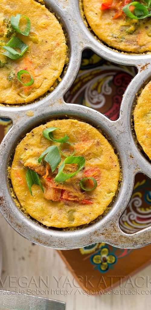 These veggie frittata bites are nutritious, filling and TASTY! Plus, they are allergen friendly with no soy, gluten, nuts, or dairy.
