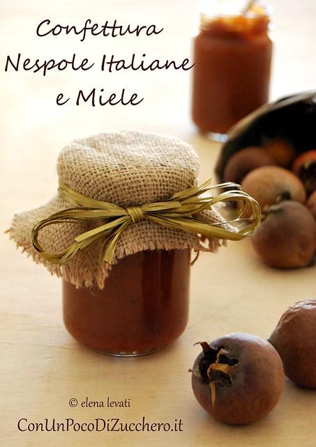 Confettura di nespole italiane al miele 1