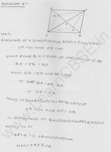 RD Sharma Class 9 Solutions Chapter 14 Quadrilaterals Ex 14.3 3