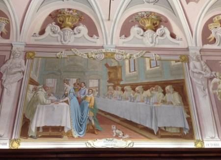 Pitture nel refettorio della Certosa di Calci