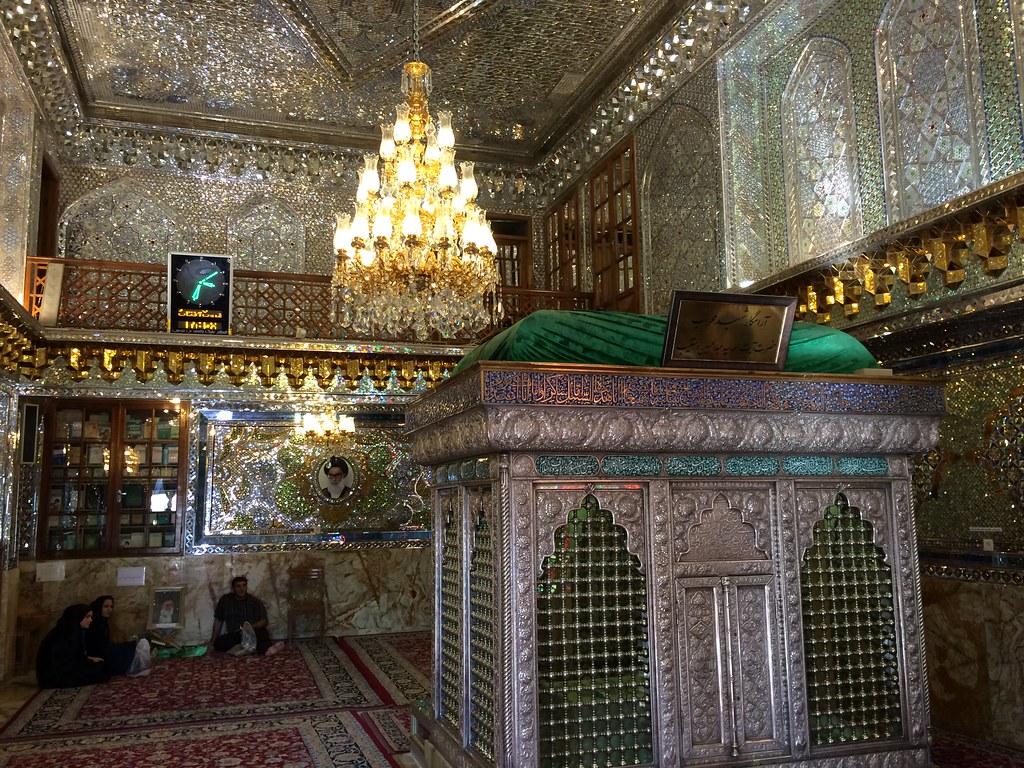Interior Santuario de Shah Cheragh Shiraz Irán 11