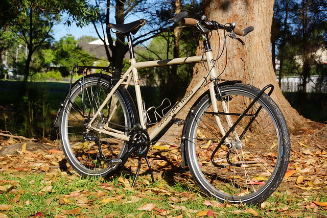 Ultimate World Touring Bike: Front Right