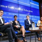 Philip Schmidt, Sashwati Banerjee, Michael Staton, and Carol Williams discuss technology's role in education.