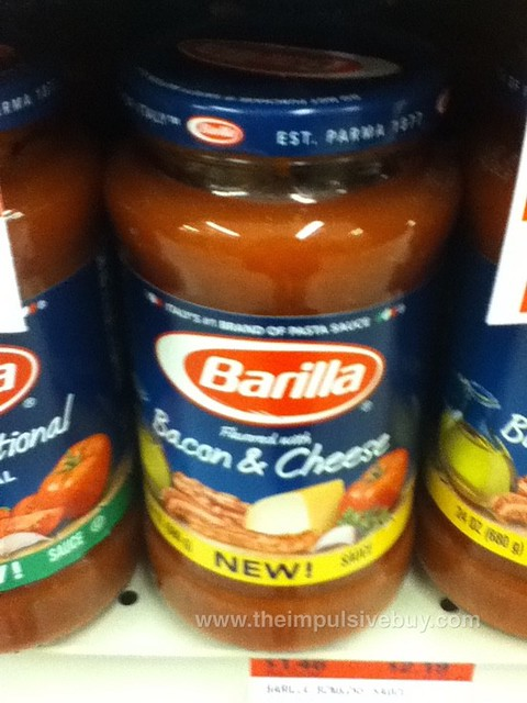 Barilla Bacon & Cheese Pasta Sauce