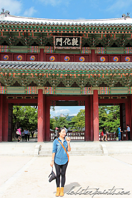 30 Sep 2014: Changdeokgung Palace 창덕궁   Seoul, South Korea