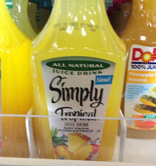 Simply Tropical Fruit Drink