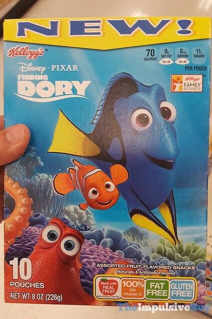 Kellogg's Finding Dory Fruit Flavored Snacks