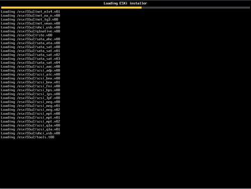 VMware vSphere ESXI 5.5 PXE Install
