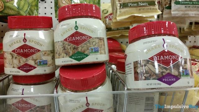 Diamond Shake & Spoon (Sliced Almonds, Diced Walnuts, and Chopped Pecans)