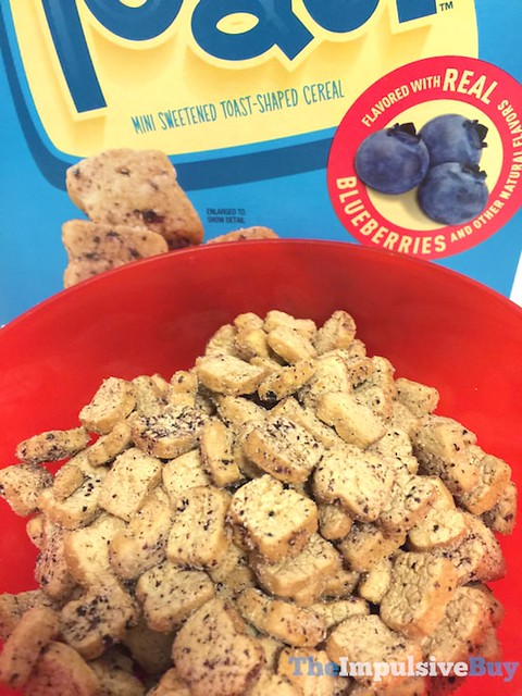 General Mills Blueberry Tiny Toast Cereal