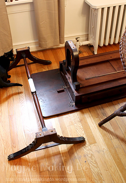 Table legs detached