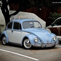 A Sweet Air Cooled Beetle Spotted in Carmel, CA