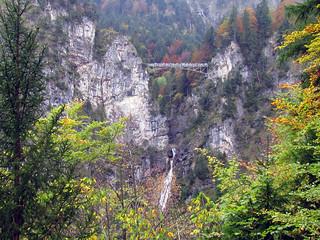 Marienbrucke bridge from Neuschwanstein