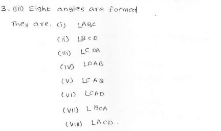 RD SHARMA class_6 solutions 11.Angles Ex_11.1 Q 3 ii