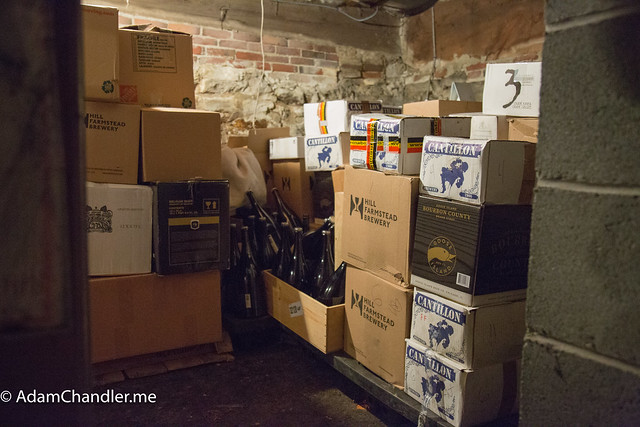 Off-Site Beer Cellar