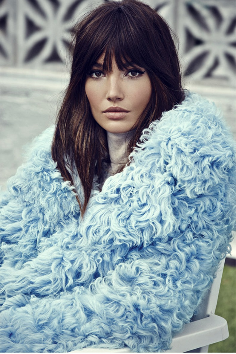 lily aldridge fashion editorial