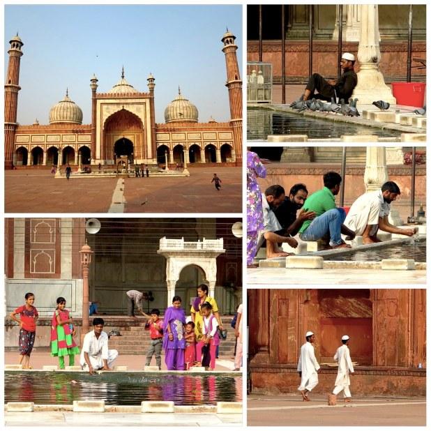 Preio Mezquita Nueva Delhi