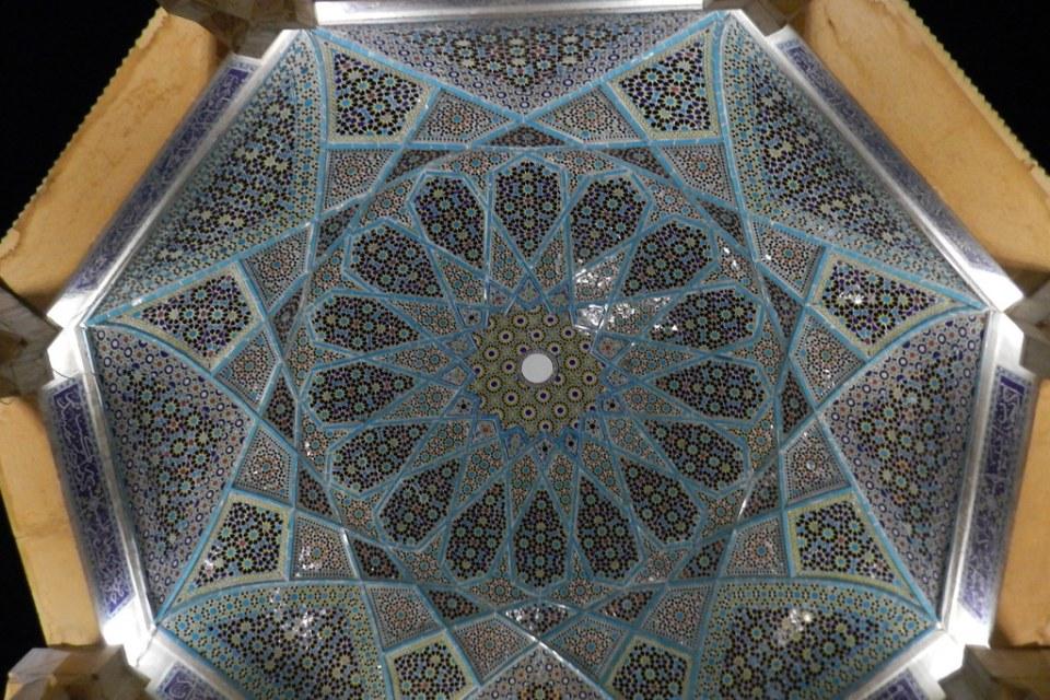 Tumba de Hafez o Saadi Shiraz Irán 06