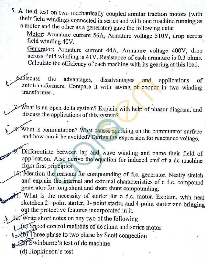 DTU: Question Papers 2013 – 3 Semester - End Sem - EE-EL-202