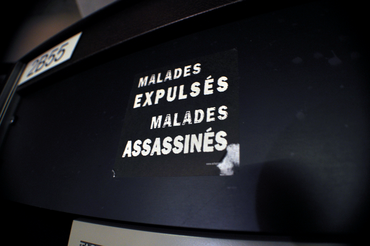 MALADES EXPULSÉS MALADES ASSASSINÉS