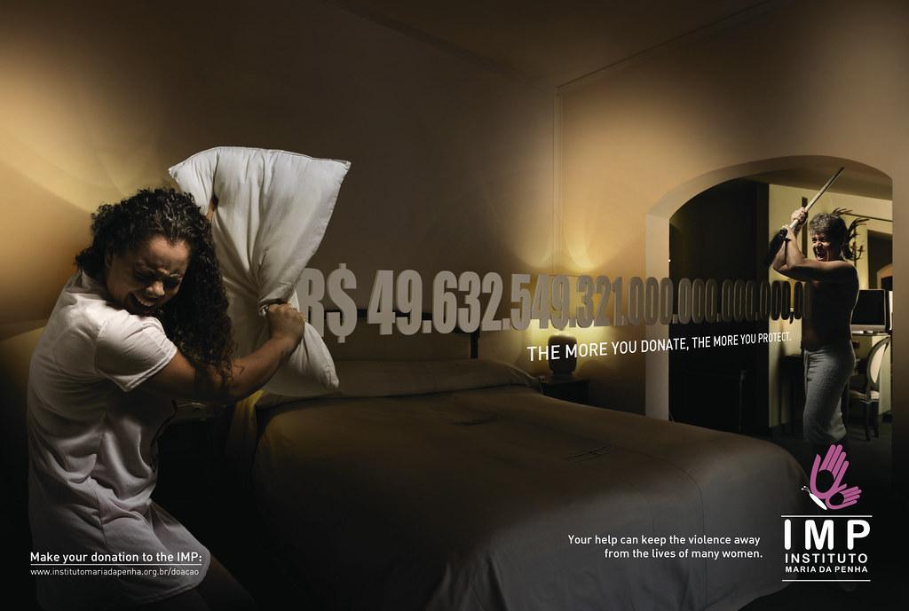 Instituto Maria da penha Ong - The more you donate, the more you protect 2