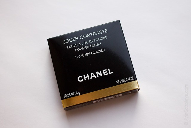 01 Chanel   Joues Contraste Powder Blush 170 Rose Glacier