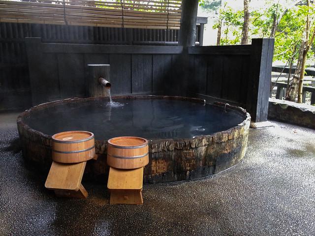 Japanese hot spring (Onsen)