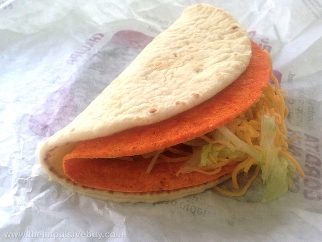 Doritos Nacho Cheese Cheesy Gordita Crunch