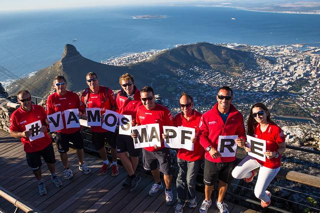 "El ""MAPFRE"" espera llegar mañana a Ciudad del Cabo"
