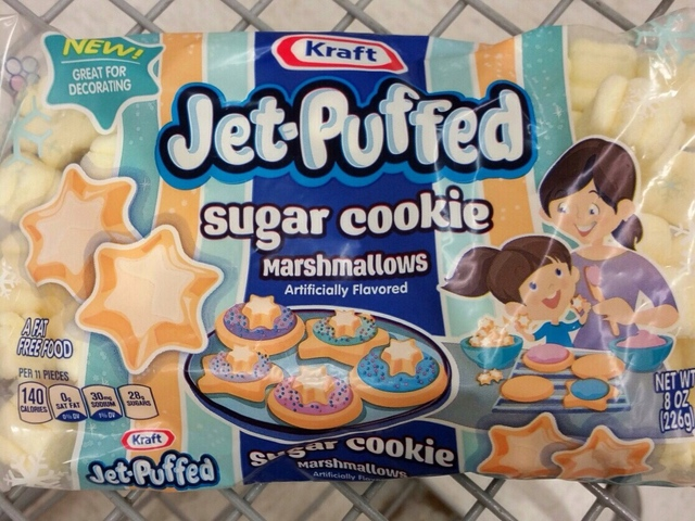 Kraft Jet-Puffed Sugar Cookie Marshmallows
