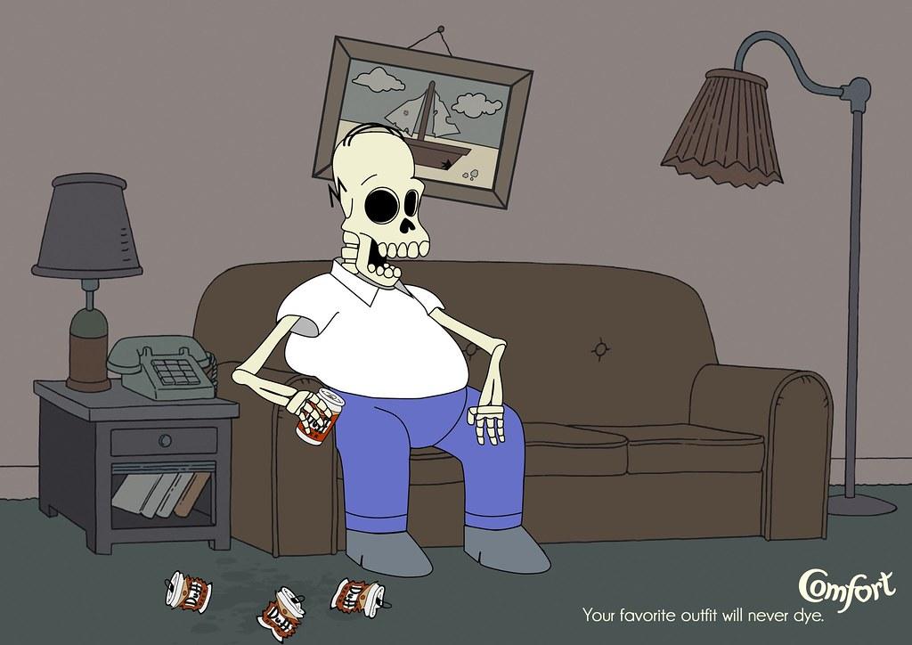 Comfort - Immortal Clothes Homer Simpson