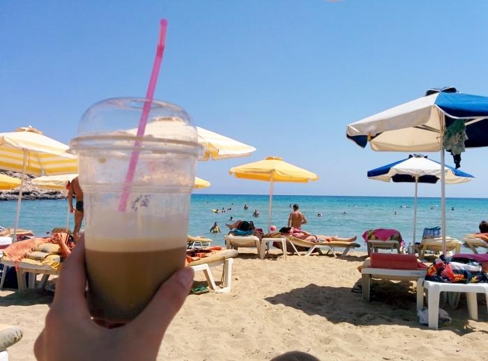 Rhodos_Agathi Beach_Kaffee