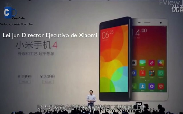 Captura Xiaomi MiNote MiPro Android Lollipop CES 2015