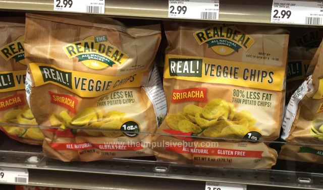The Real Deal Sriracha Veggie Chips