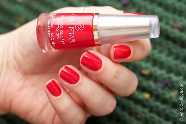 06 Collistar Gloss Nail Lacquer #580 Rosso Sofia