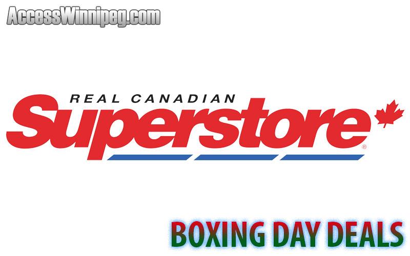 Superstore Boxing Day Deals 2016 Access Winnipeg