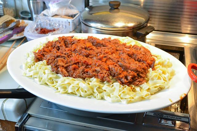 Pasta with Lamb Ragout