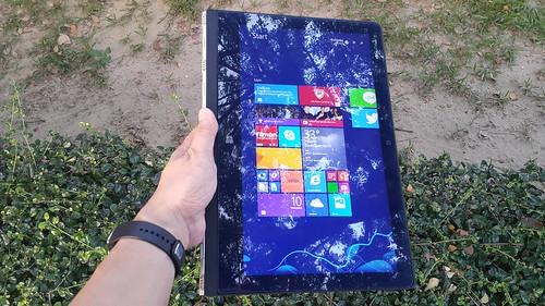 Lenovo Yoga 3 Pro Tablet mode