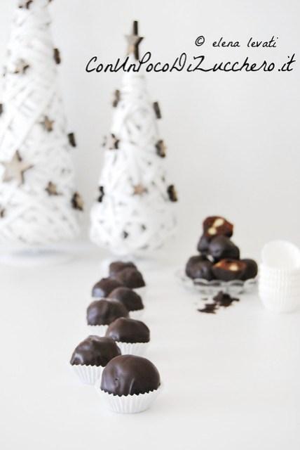 Bocconcini al cioccolato speziati - spicy chocolate bon bons