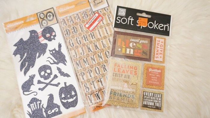 Planner & Scrapbooking Supplies Haul