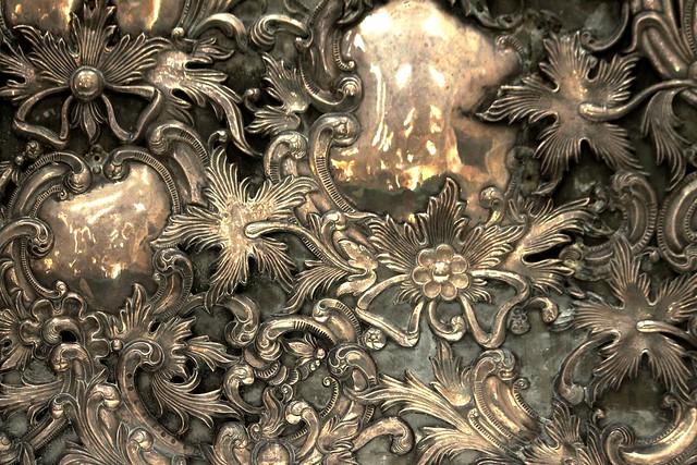 Silver Retablo (Detail)