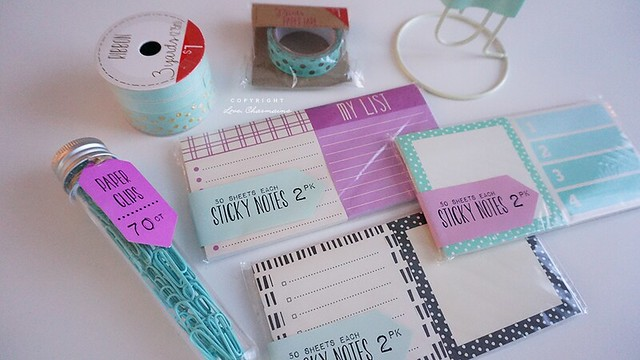 January Planner Supplies Haul